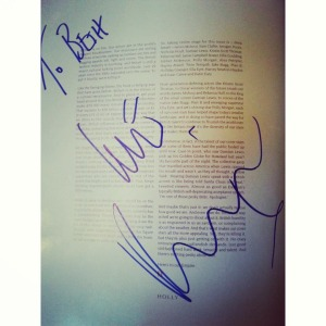 Autograph for beth roach photography by rankin
