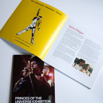 Flay lay of the princes of the universe programme inside