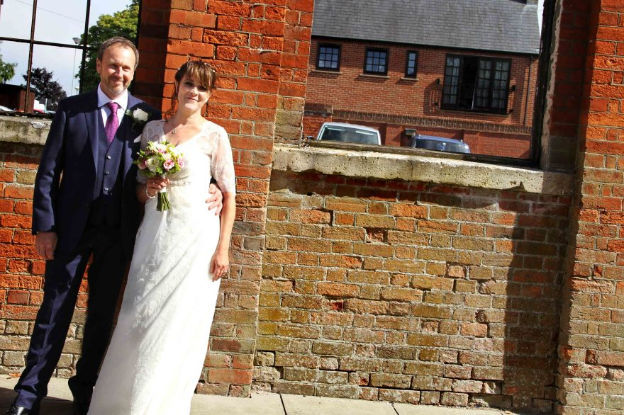 Bride and Groom photography of them on their wedding day