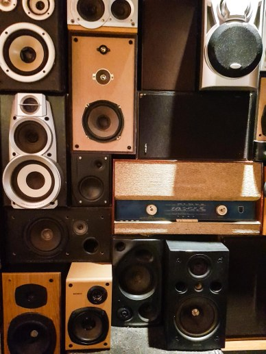 Lots of speakers